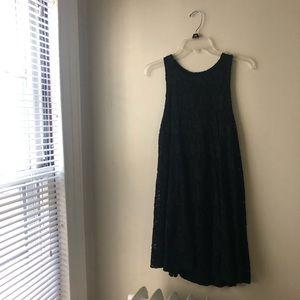 Ginger G Black Lace Shift Dress